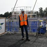 Local people winning construction jobs and gaining new skills on Sandwell Aquatics Centre